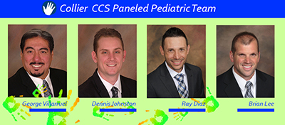 Collier CCS Paneled Pediatric Prosthesis Practitioners