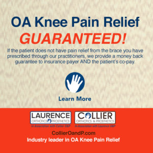knee pain relief guarantee graphic
